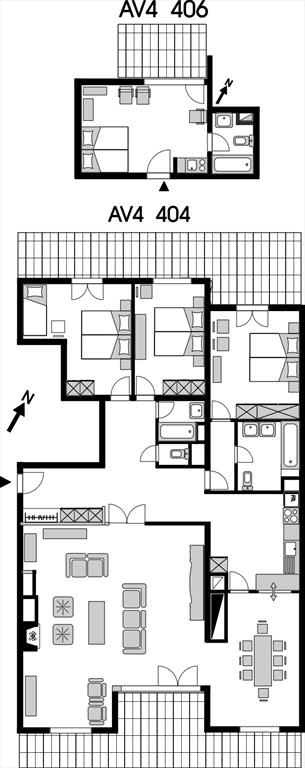 Appartement de vacances AV4 404-406 mail (2002056), Anzère, Crans-Montana - Anzère, Valais, Suisse, image 14